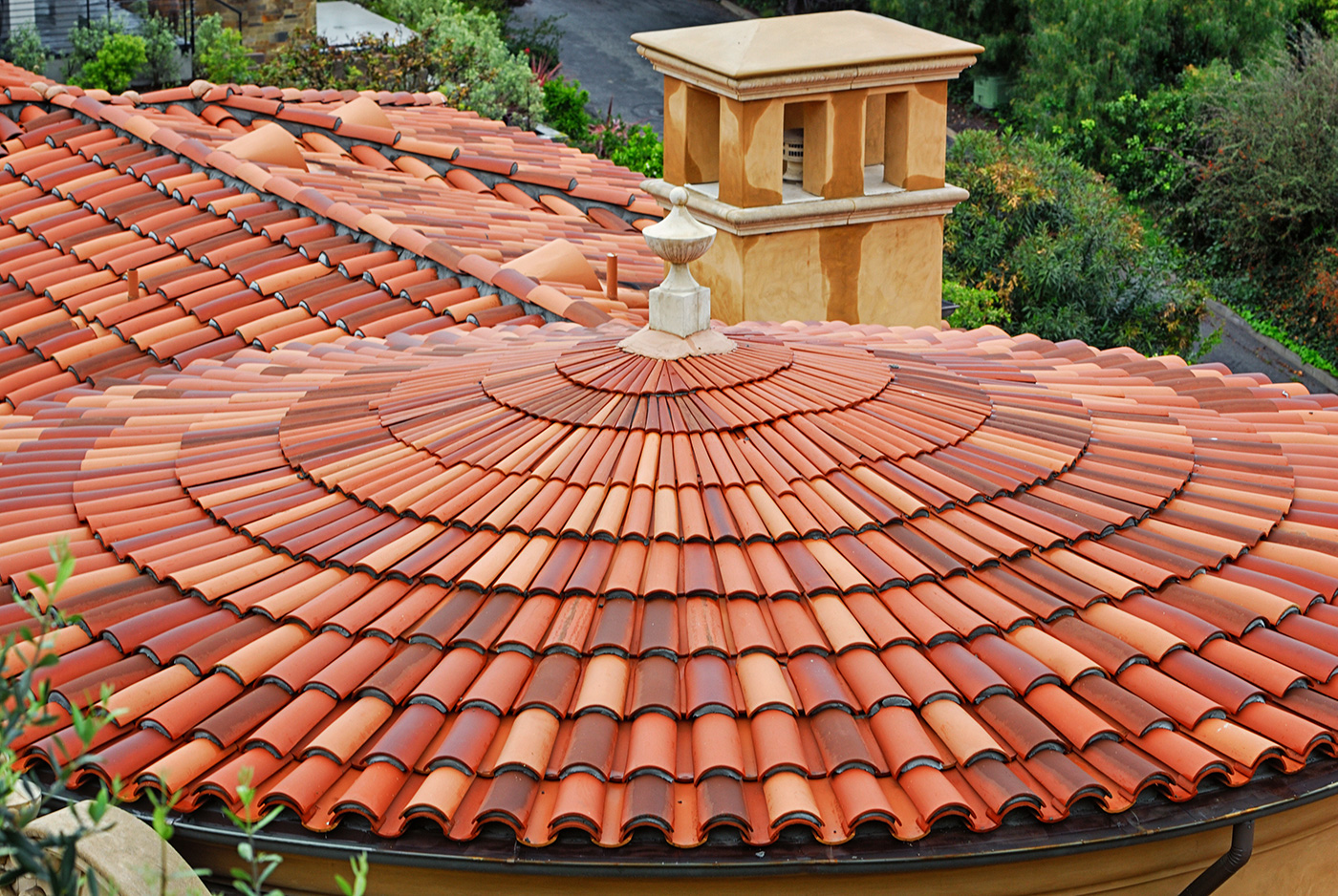 clay roofing materials